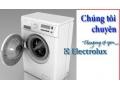 Máy giặt Electrolux rung và bị giật